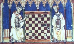 szachy w średniowieczu, historia szachów, artykuł o szachach, nauka szachów,