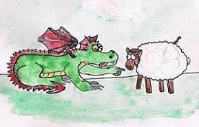 zatruta owieczka