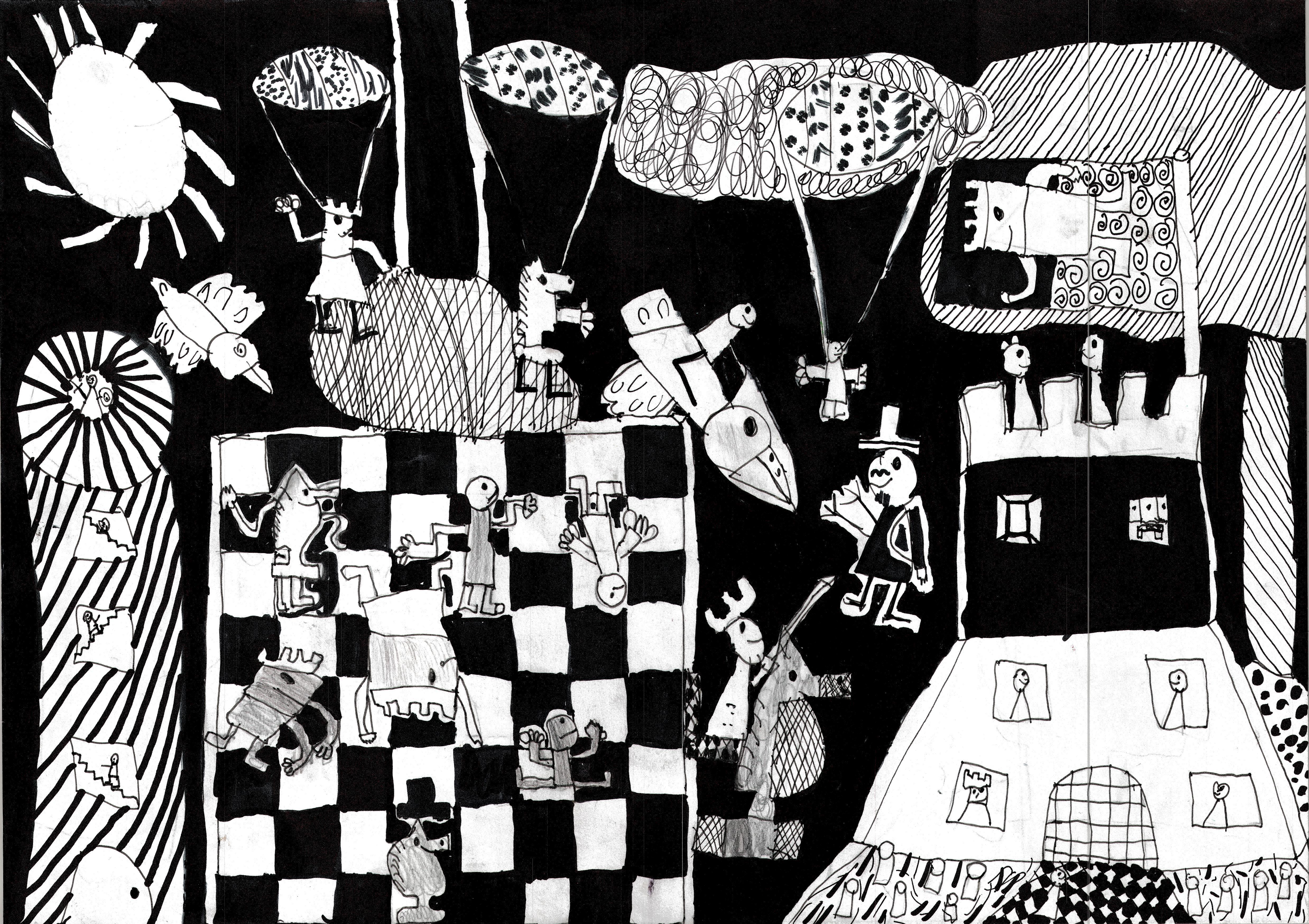 Rysunek - Daniel Gerula.