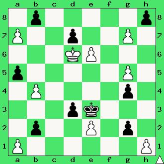 Zbieranie grzybów królami, szachowy król, szachownica, diagram, apronus, nauka gry w szachy dla początkujących, pierwszy krok w szachach, interaktywny podręcznik szachowy, lekcja szachów, posunięcia szachowego króla, bierki szachowe,