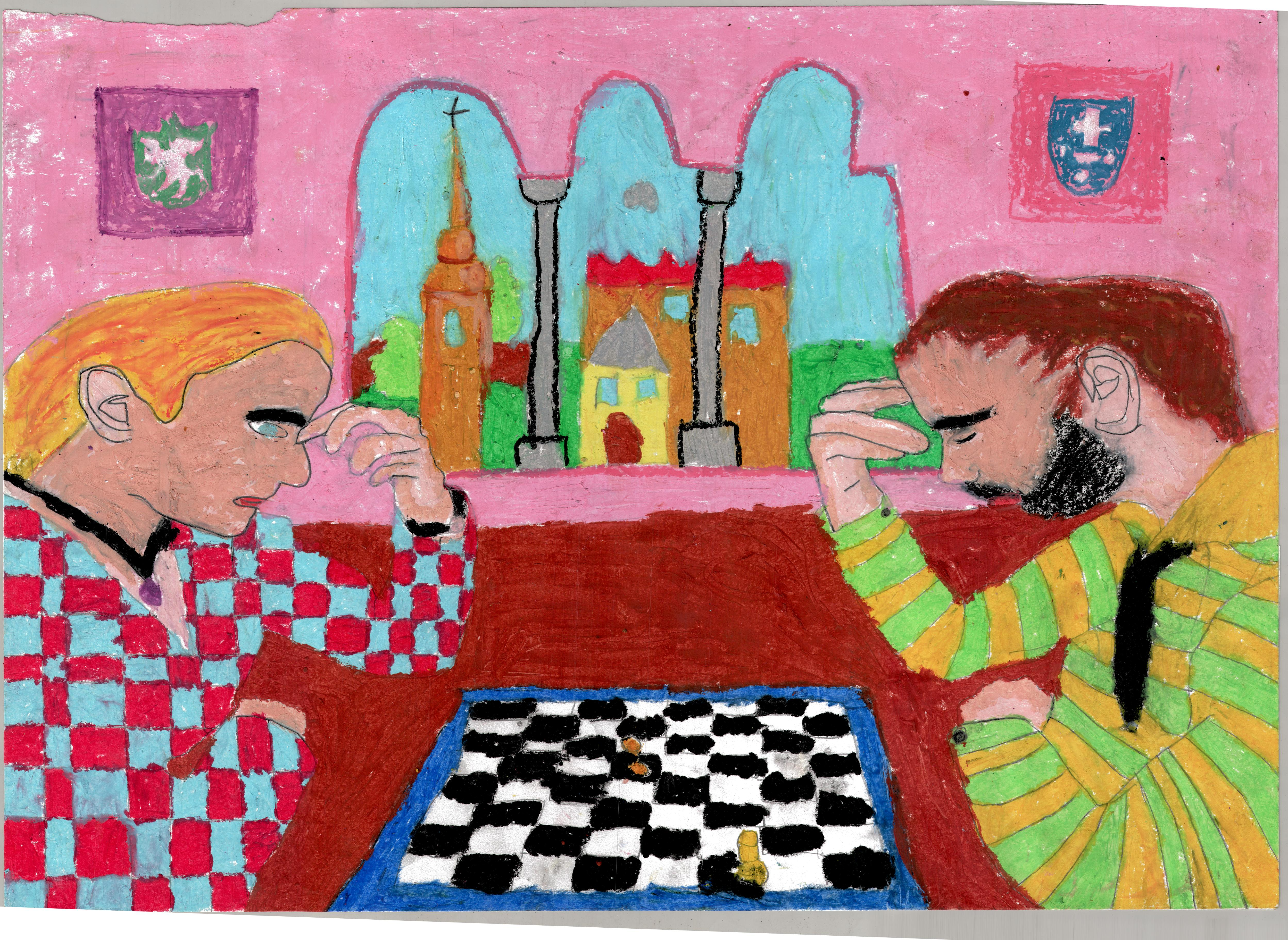Rysunek - Oliwia Walczak.