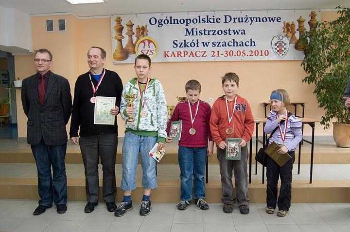 SP_91 Wrocław - brązowy medal