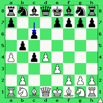 Przyjęty gambit hetmański.