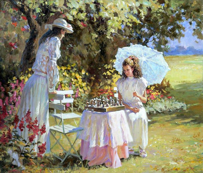 szachy w plenerze