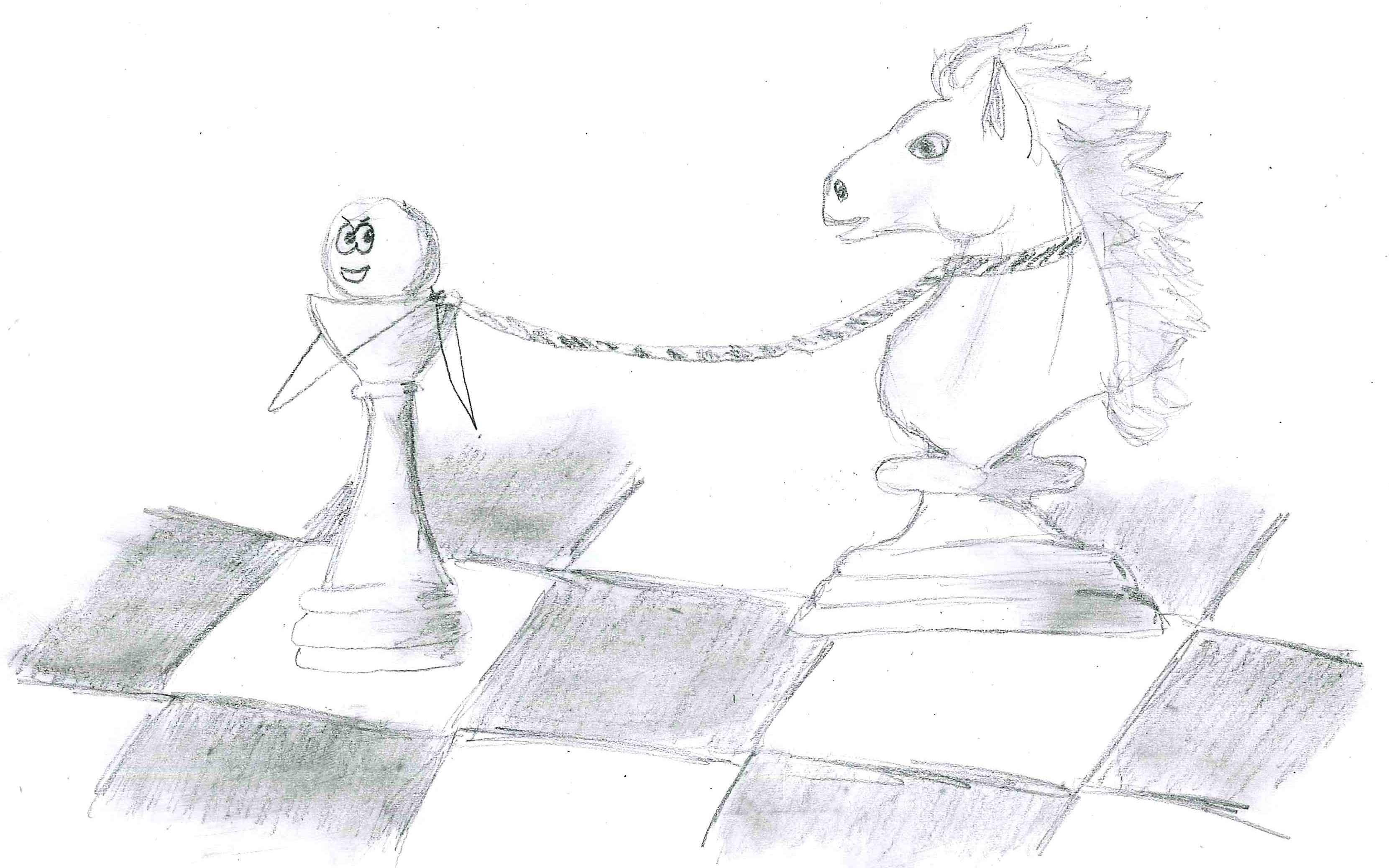 Rysunek - Aleksandra Stecka.