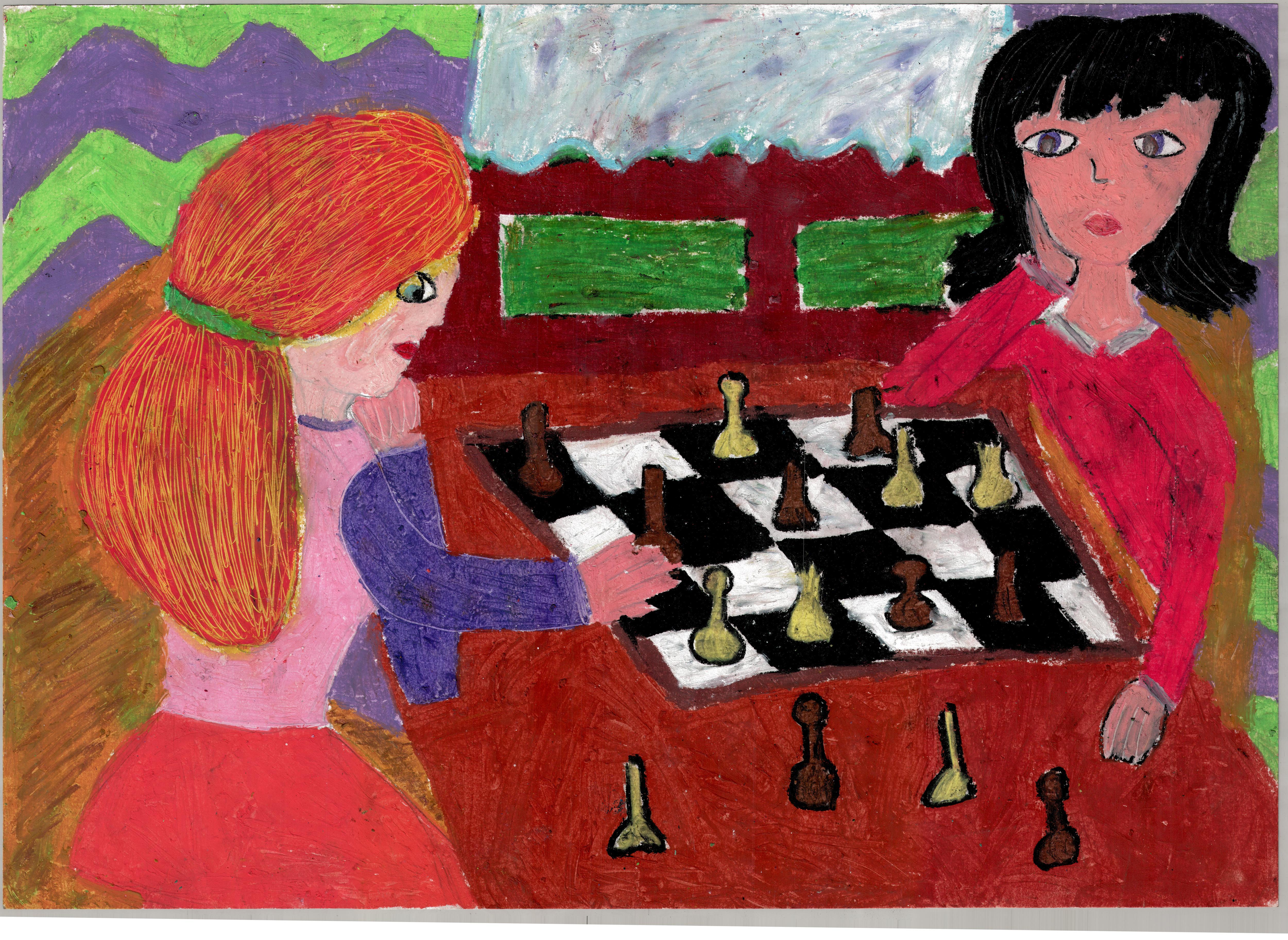 Rysunek - Emilia Rozwadowska.