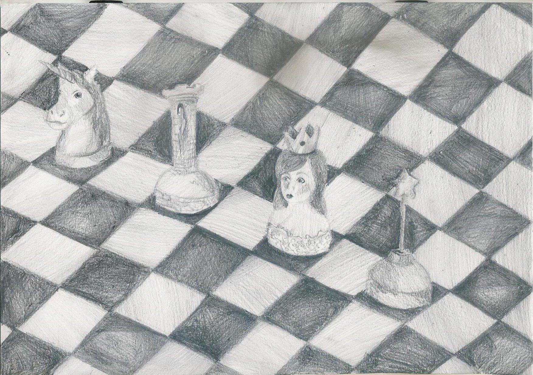 Rysunek - Julia Huzarska.