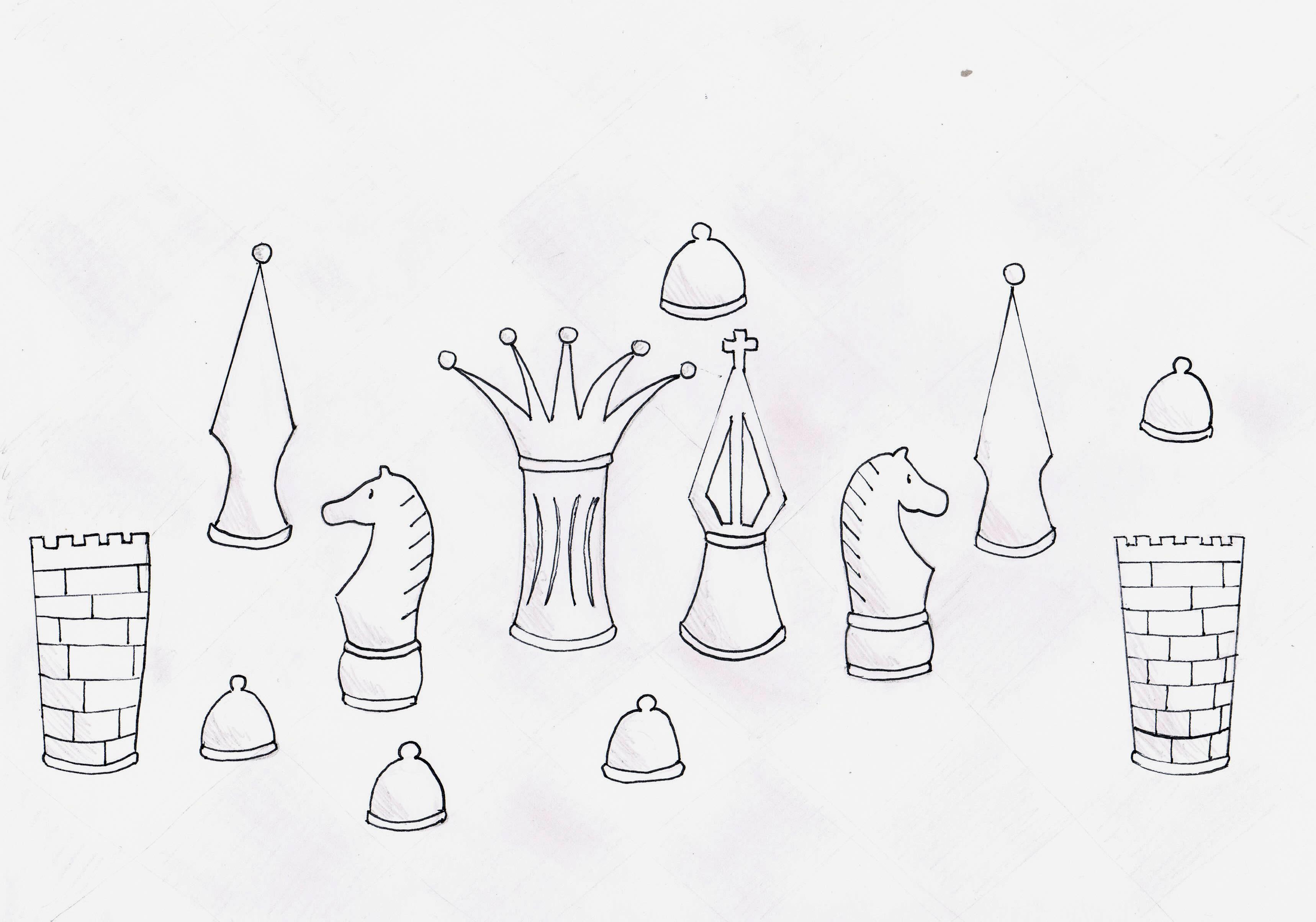 Bierki szachowwe