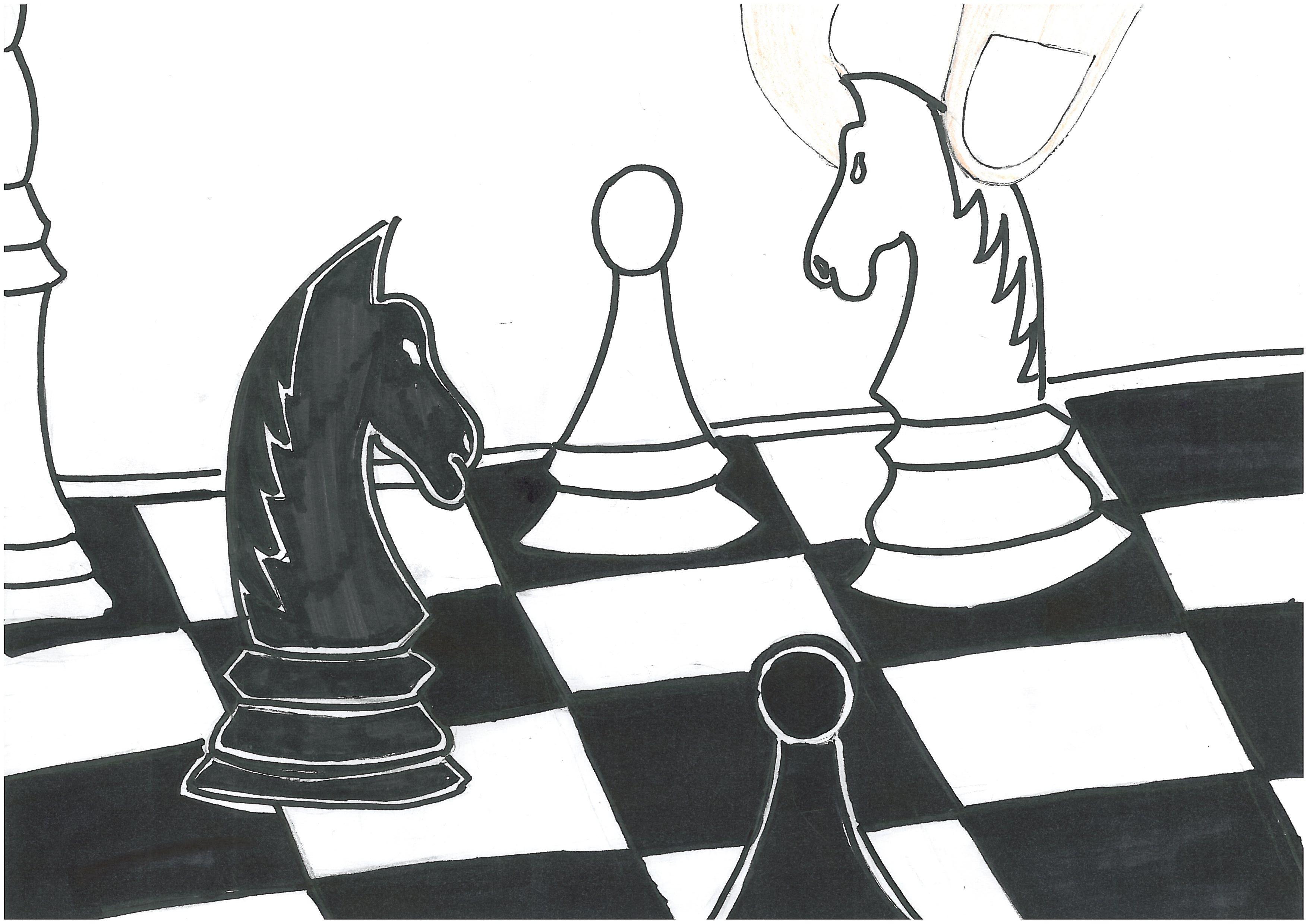 Rysunek - Michał Brzoza.