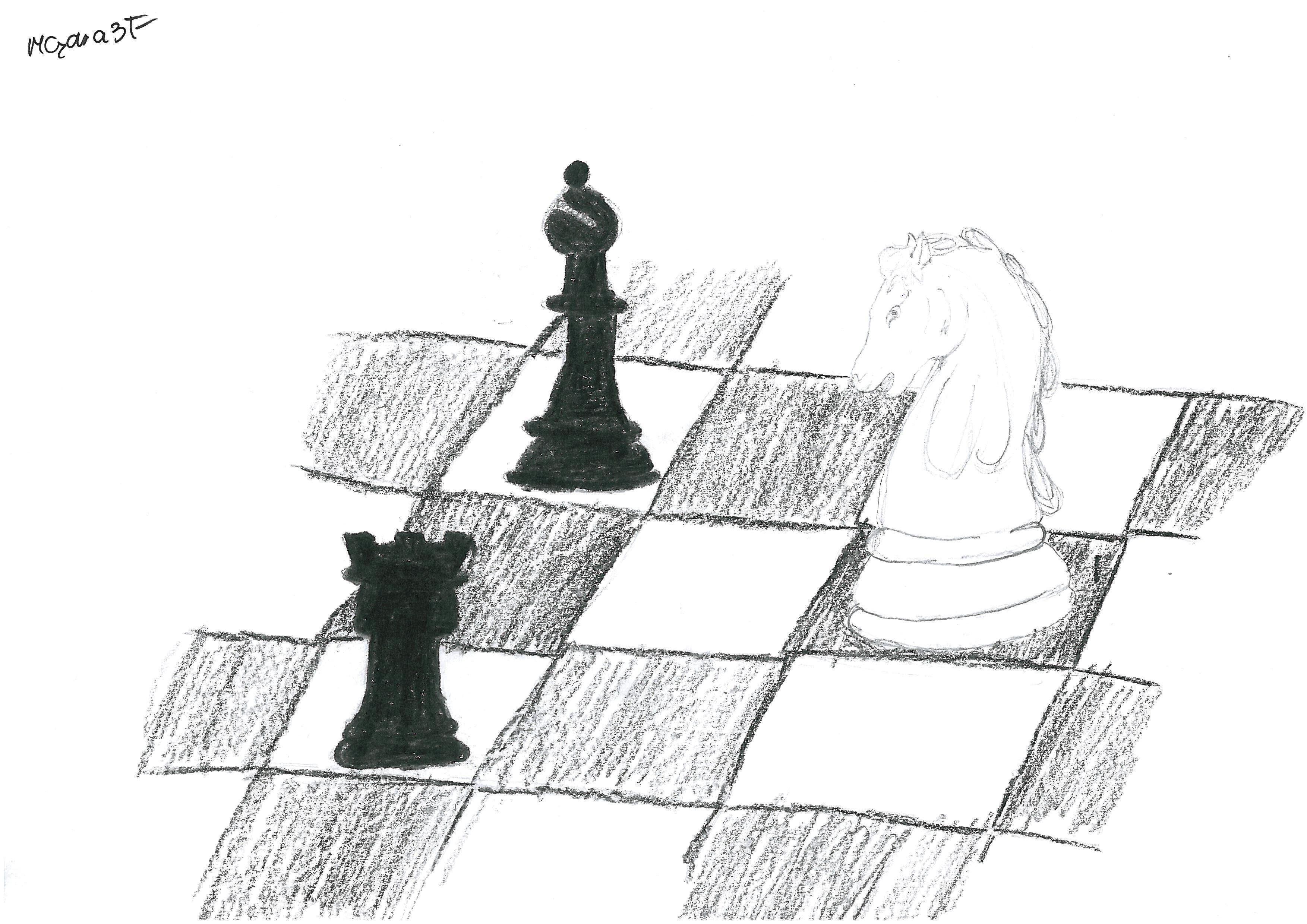 Rysunek - Magdalena Mądra.