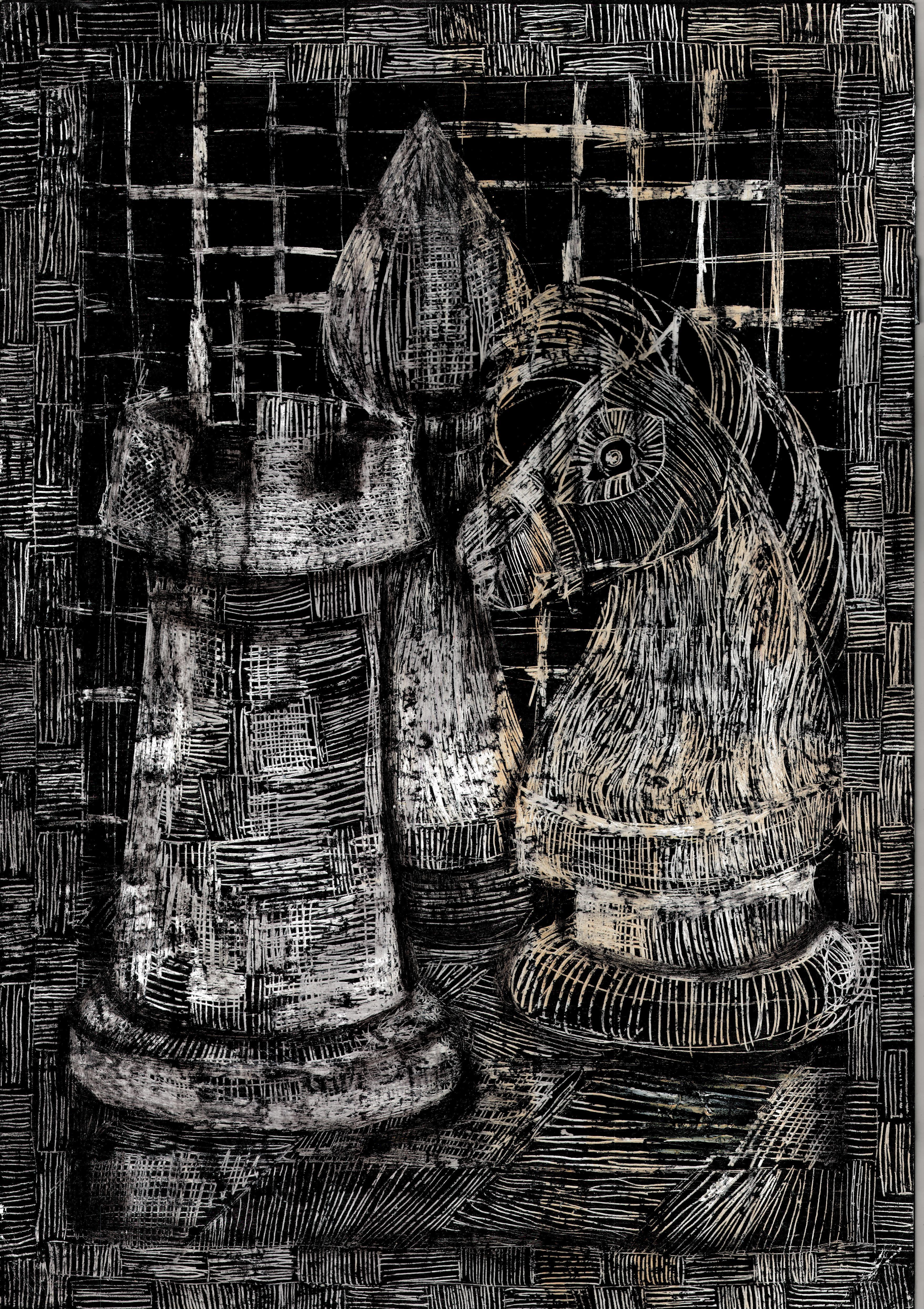 Rysunek – Barbara Kotkowska.
