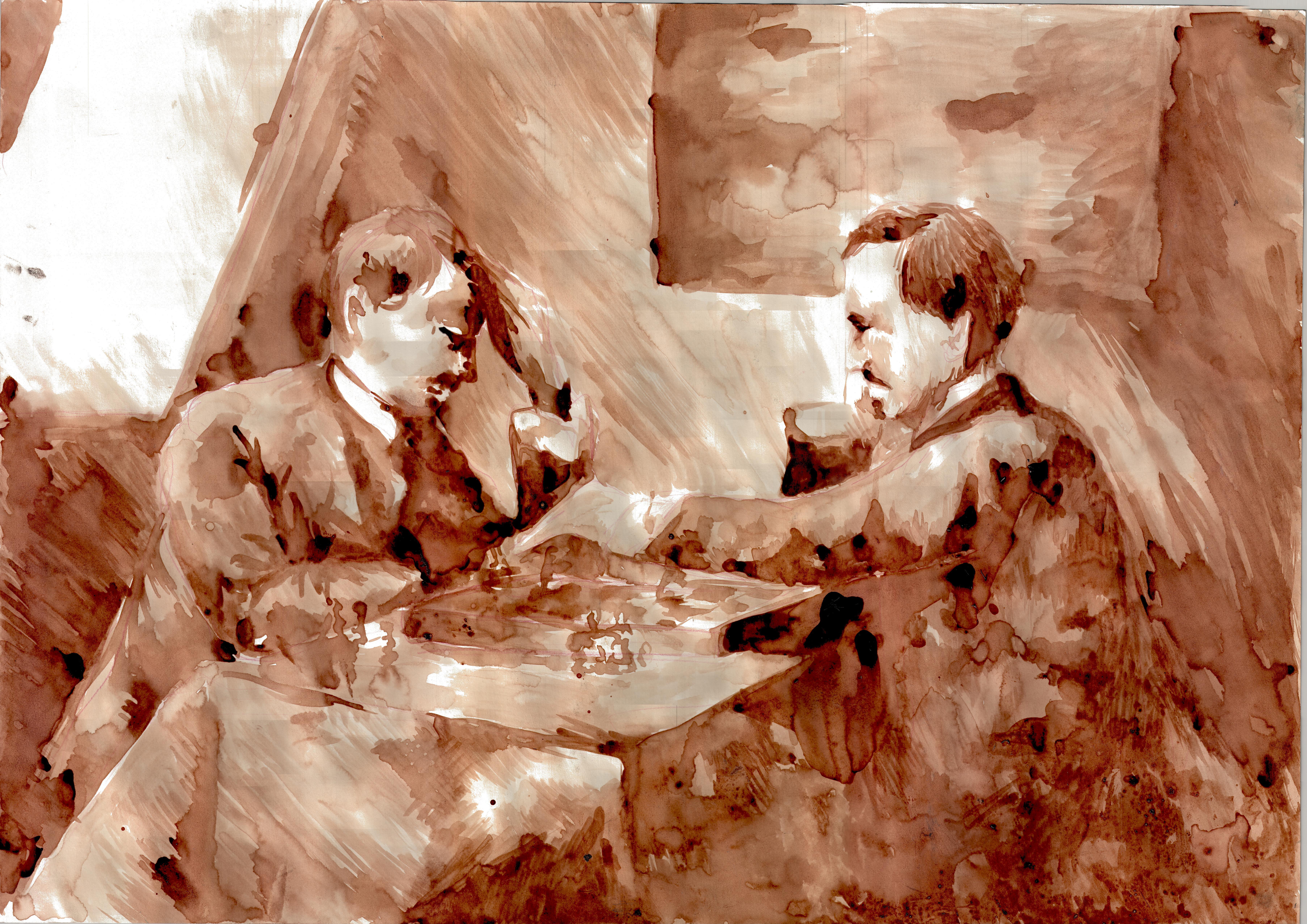 Rysunek – Daria Będkowska.