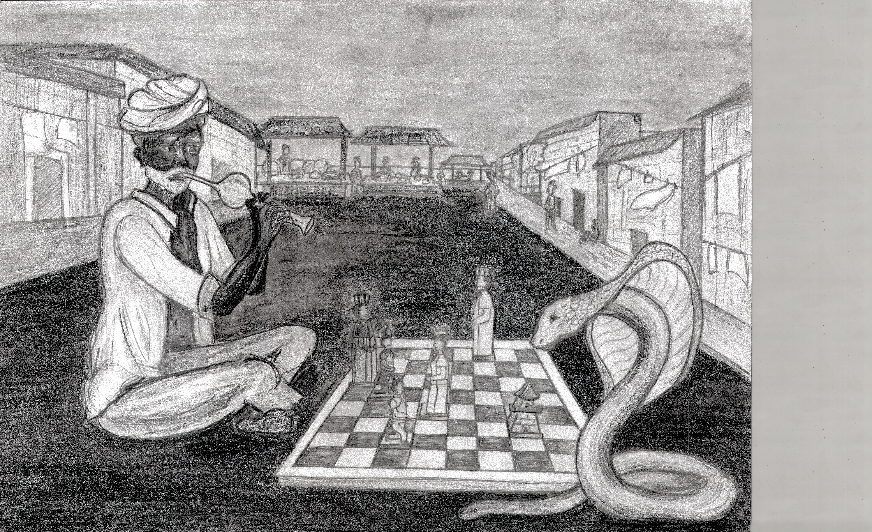 Rysunek - Zuzanna Reluga.