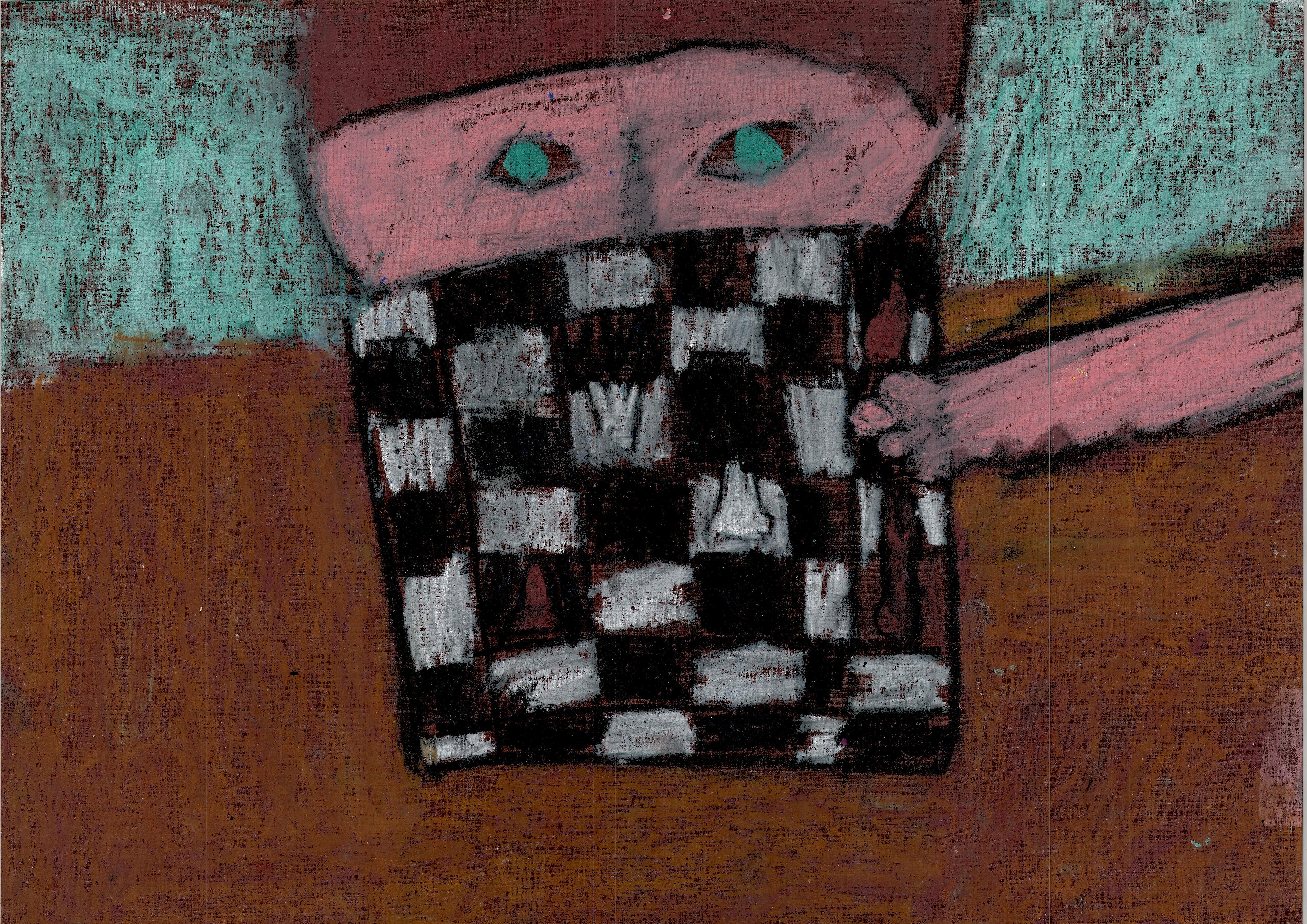 Rysunek – Karolina Wiśniewska (lat 9, Centrum Kultury w Łęcznej). Konkurs KRÓLEWSKA GRA – SZACHY (nagroda), MDK Śródmieście Wrocław, listopad 2015.