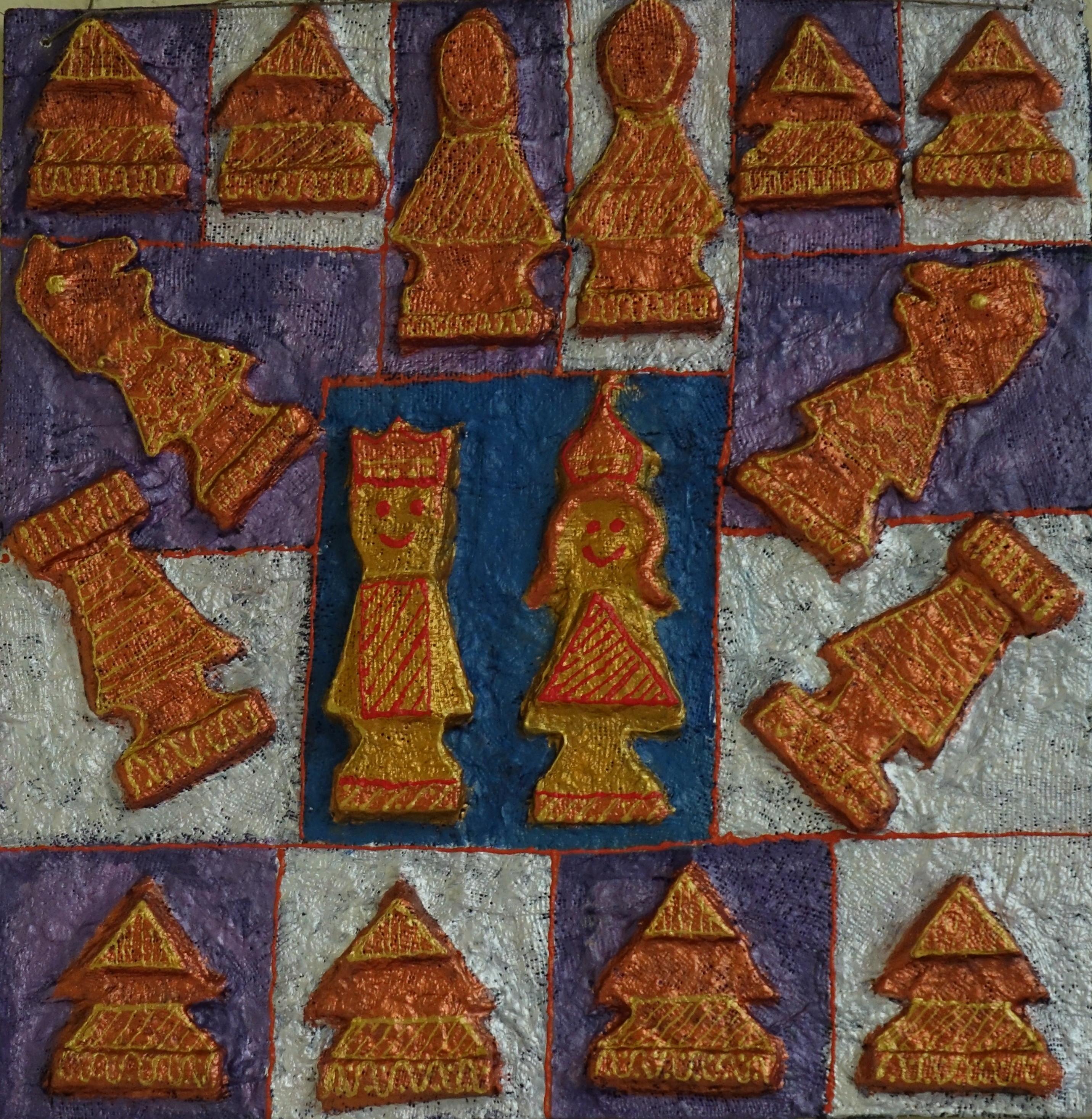 Ceramika - Paulina Popiel. szachy