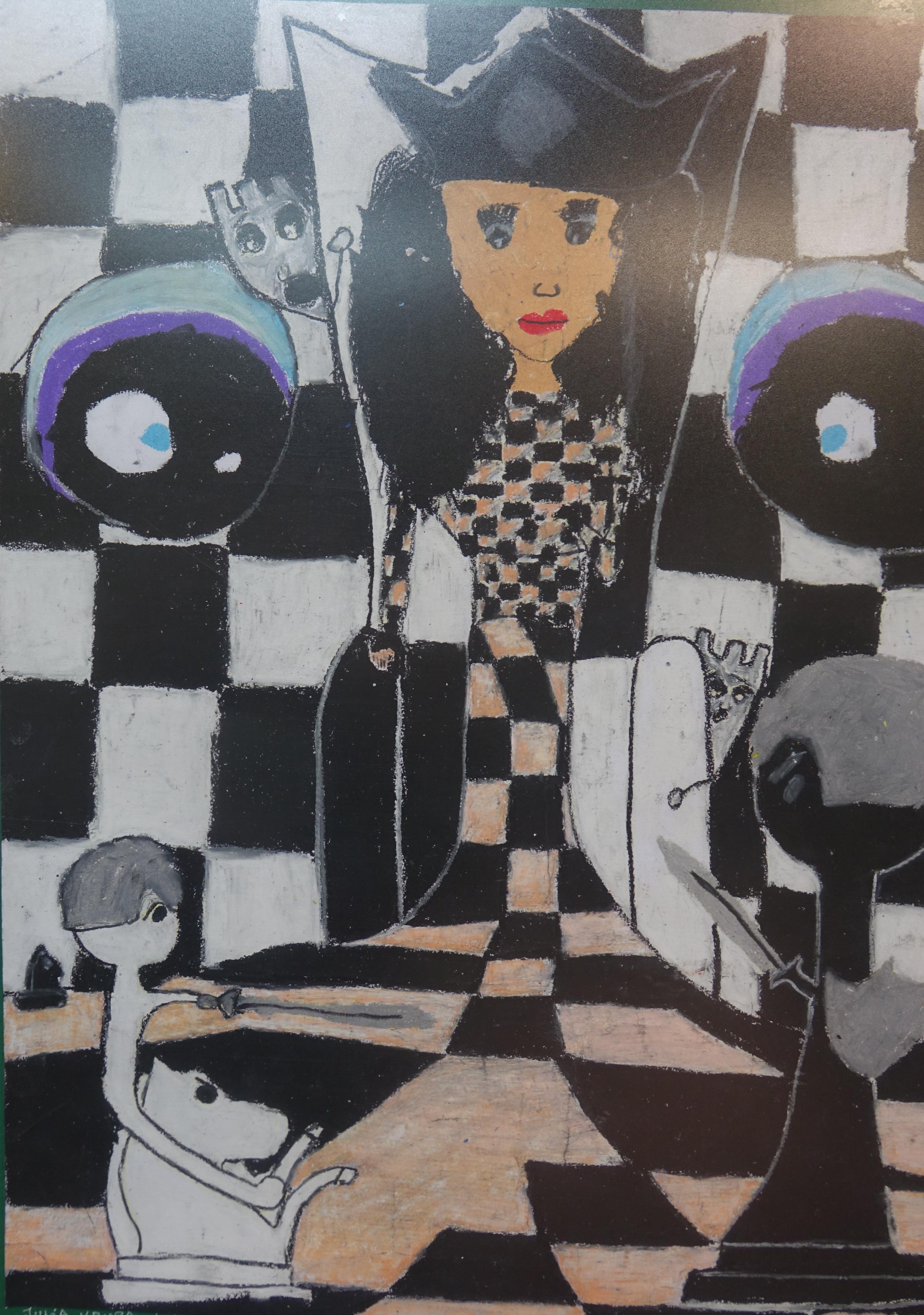 Rysunek - Julia Krupa.