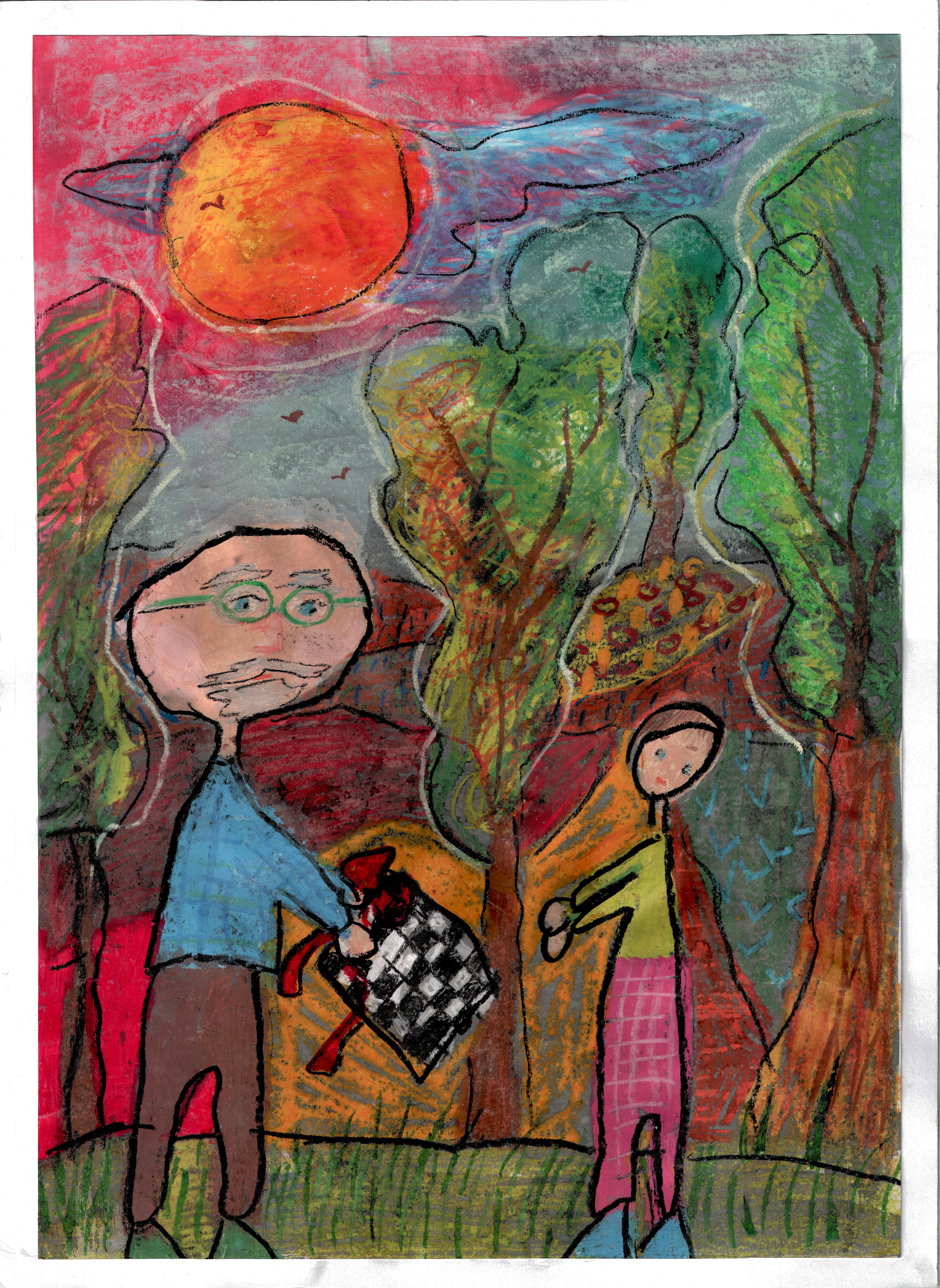 Rysunek - Magda Kabata.