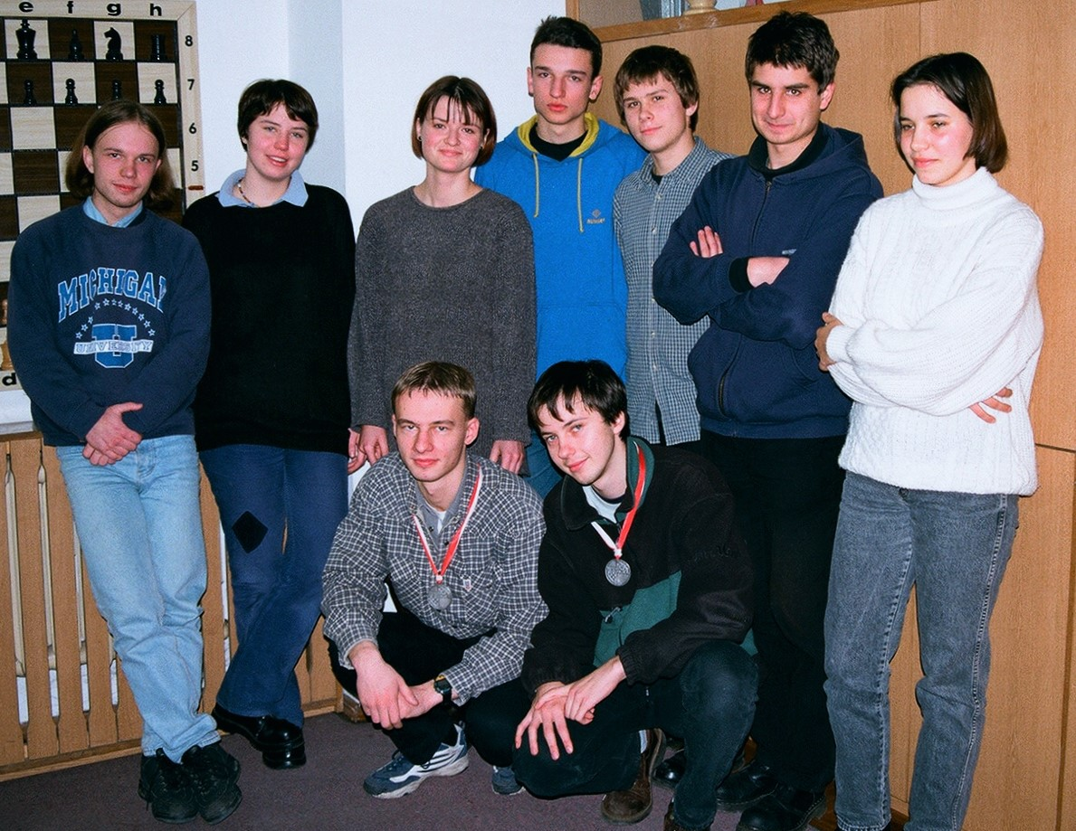 Srebrnimedaliści MP juniorów1995