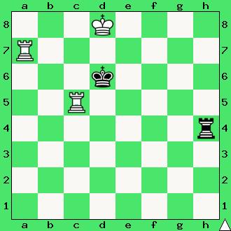 Filip Stamma, Essai sur le jeu des echecs, 1737, wygrana, zadanie, studium, dwie wieże, interaktywny podręcznik szachowy, lekcje szachowe, taktyka, piękno szachów, nauka gry w szachy dla dzieci, apronus, diagram,