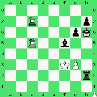 Goglidze – Gasparian, 1934, wygrana, zadanie, studium, dwie wieże, interaktywny podręcznik szachowy, lekcje szachowe, taktyka, piękno szachów, nauka gry w szachy dla dzieci, apronus, diagram,