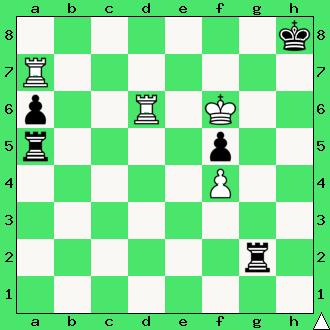 Englisch – Gunsberg, 1885, wygrana, zadanie, studium, dwie wieże, interaktywny podręcznik szachowy, lekcje szachowe, taktyka, piękno szachów, nauka gry w szachy dla dzieci, apronus, diagram,