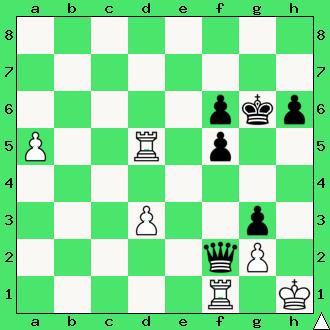 wygrana, zadanie, studium, dwie wieże, interaktywny podręcznik szachowy, lekcje szachowe, taktyka, piękno szachów, nauka gry w szachy dla dzieci, apronus, diagram,