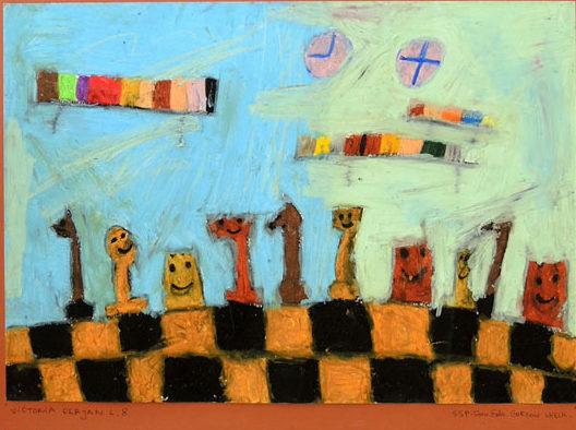 Victoria Ferjan, królewska gra, szachy dla dzieci, Gorzów Wielkopolski, Społeczna Szkoła Podstawowa SE, MDK Śródmieście Wrocław, piękno szachów, lekcje szachowe, interaktywny podręcznik szachowy, zdjęcie,