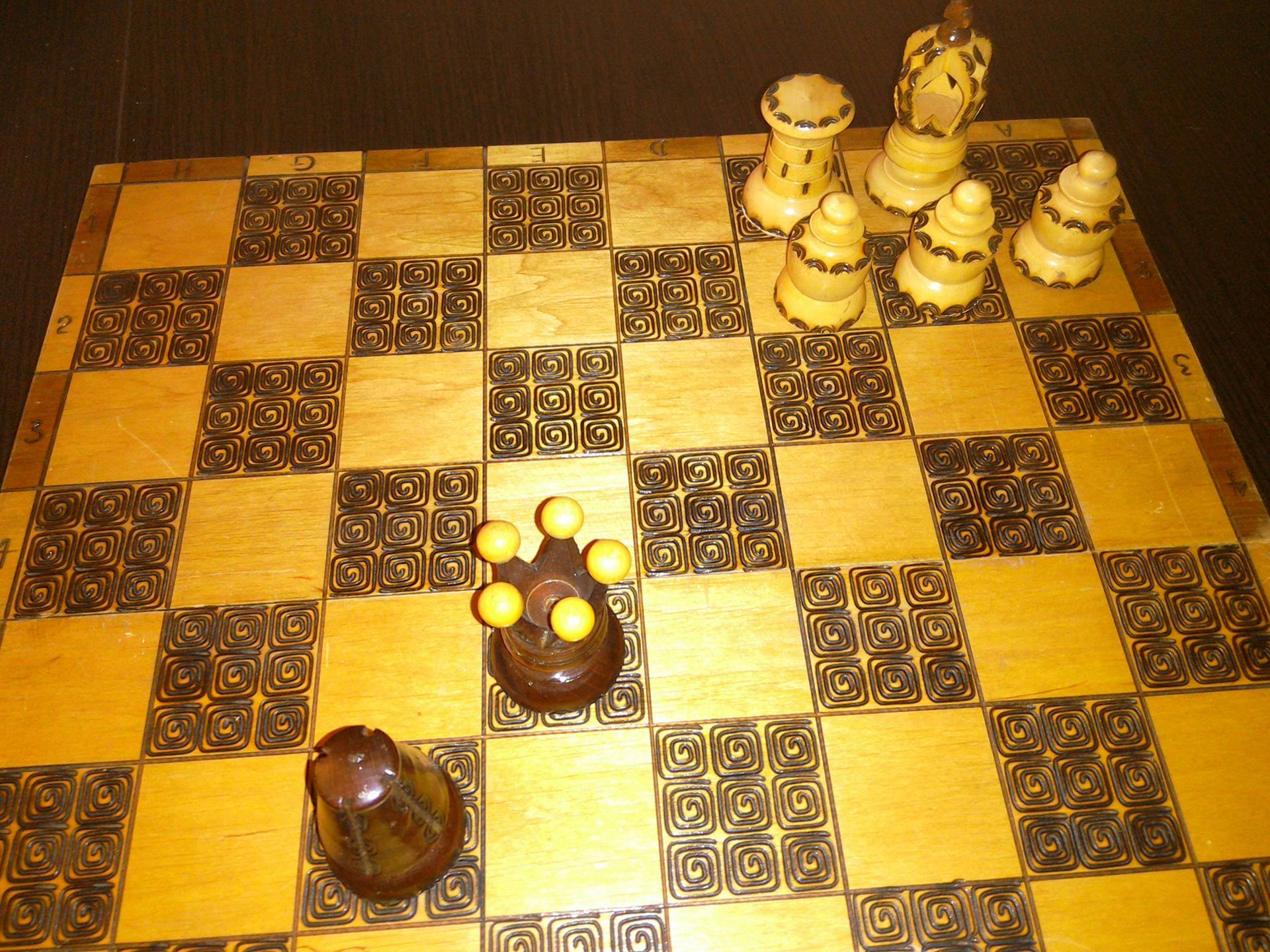 Maczuga. Zdjęcie - Kajetan Pynka. szachy