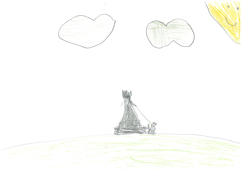 Rysunek - Urszula Kotas.