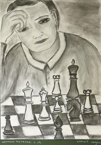 Rysunek - Martyna Pietrzak.