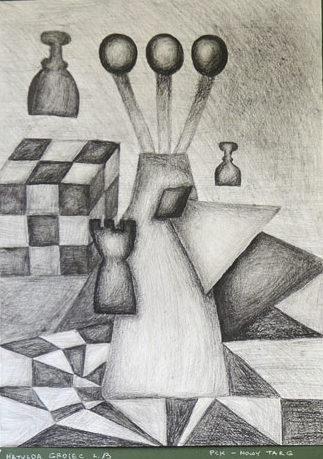 Rysunek - Matylda Grojec.