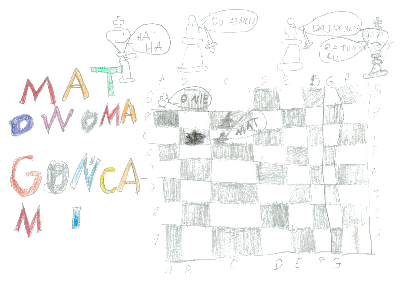 Rysunek - Olga Kraszewska.