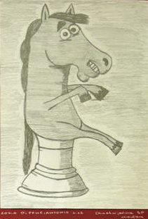 Rysunek - Zofia Di Feliciantonio.