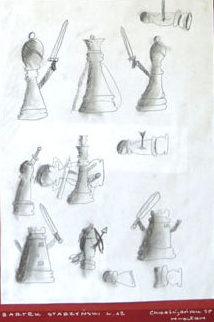 Rysunek - Bartek Starzyński.