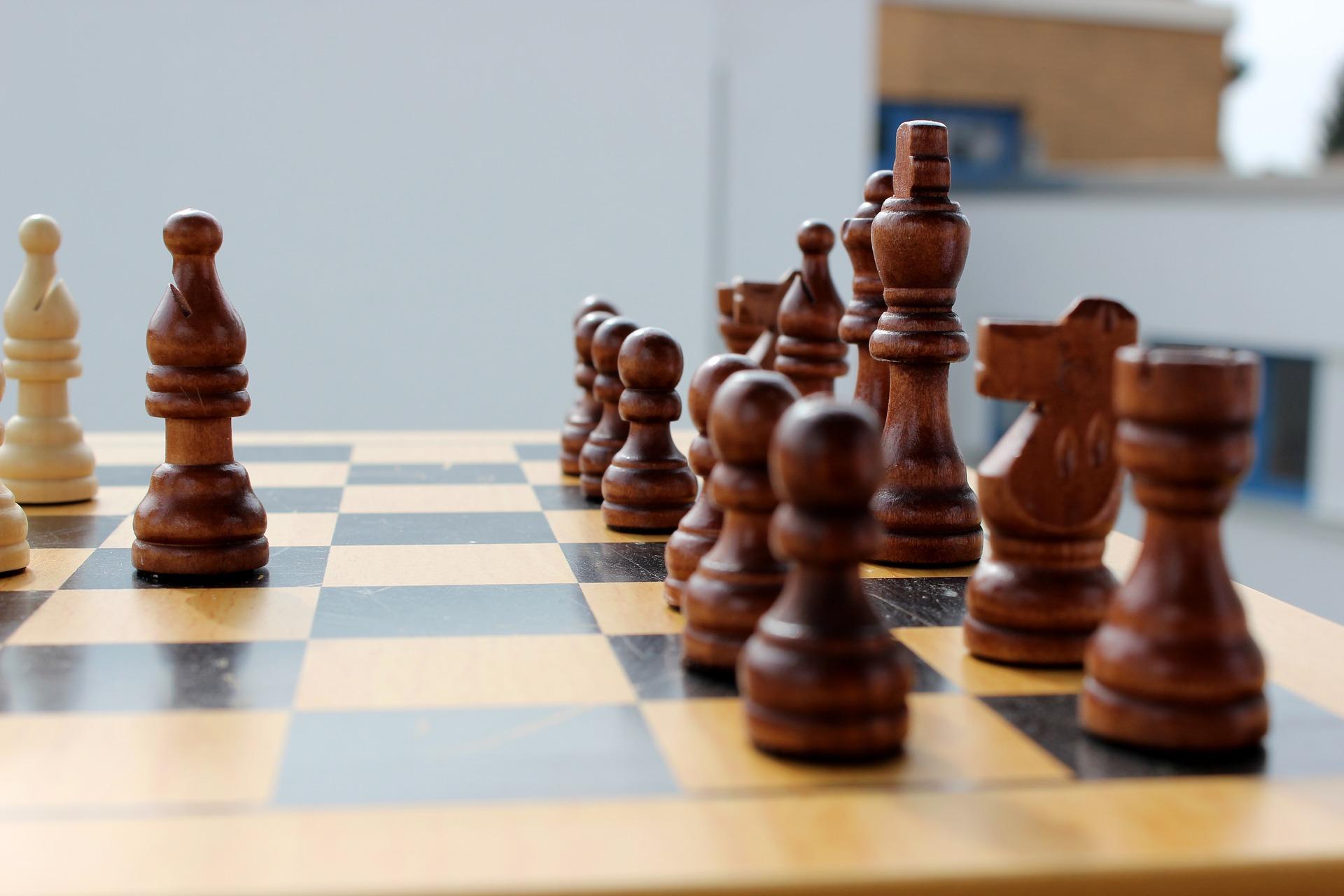 szachy gońce goniec debiut