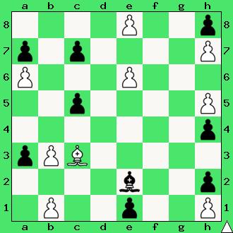 Zbieranie grzybów gońcami, lekcje szachowe, interaktywny podręcznik szachowy, goniec, posunięcia gońca, nauka gry w szachy dla początkujących, pierwszy krok w szachach,