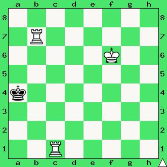 szachy mat dwie wieże król wieża przekładaniec schodkowy przekładany kroczący