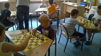 Mały Geniusz - zajęcia szachowe.