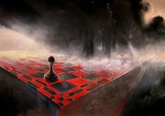 szachy, pionek, szachownica, pion,