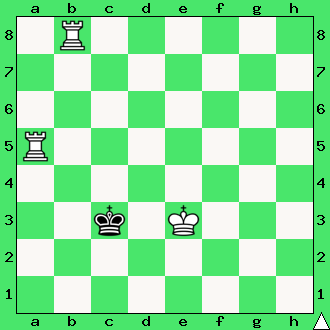 szachy, apronus, dwie wieże, interaktywny podręcznik szachowy, diagram statyczny, matowanie dwiema wieżami,