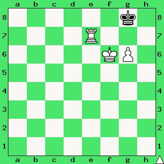 szachy, wieża z pionem, matowanie wieżą i pionkami, interaktywny podręcznik szachowy, apronus, mat w 1 posunięciu,