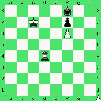 szachy, mat w 1 ruchu, interaktywny podręcznik szachowy, mat wieżą i pionem, matowanie wieżą i pionkami, apronus,