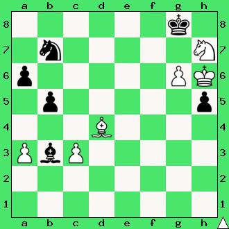 Mat w 2 posunięciach, interaktywny podręcznik szachowy, nauka gry w szachy dla początkujących, lekcje szachowe, matowanie skoczkiem i gońcem, apronus,