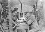 Piłsudski gra w szachy