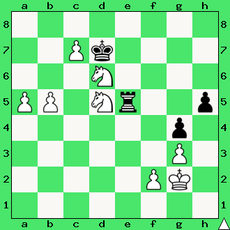 Mat w 2 posunięciach, interaktywny podręcznik szachowy, nauka gry w szachy dla początkujących, lekcje szachowe, matowanie skoczkami, apronus,