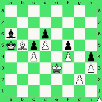 kwadrat piona, Ćwiczenia, interaktywny podręcznik szachowy, apronus, diagram, końcówka gońcowa, szachy dla dzieci, lekcje szachów, partia szachowa, król, pionki, goniec, hetman, pion, jednobarwne gońce, promocja, plan główny końcówek szachowych,