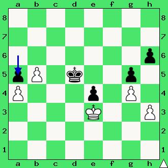 Ćwiczenia, interaktywny podręcznik szachowy, rozwiązanie zadania szachowego, apronus, diagram, końcówka pionowa, szachy dla dzieci, lekcje szachów, partia szachowa, król, pionki, hetman, promocja, plan główny końcówek szachowych,