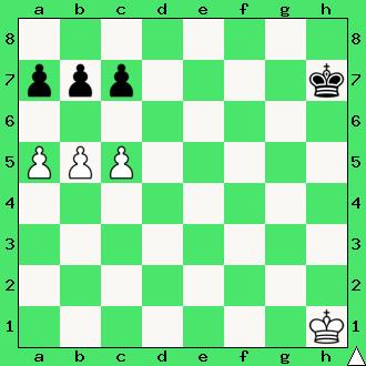 Capablanca, ćwiczenia, interaktywny podręcznik szachowy, apronus, diagram, końcówka pionowa, szachy dla dzieci, lekcje szachów, gra z komputerem, partia szachowa, król, pionki, hetman, promocja, pierwszy krok w szachach,