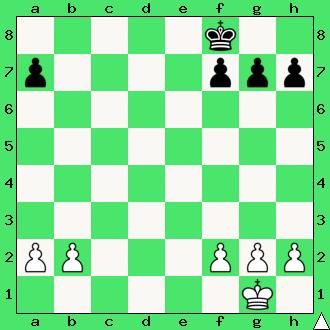 Ćwiczenia, interaktywny podręcznik szachowy, apronus, diagram, końcówka pionowa, szachy dla dzieci, lekcje szachów, gra z komputerem, partia szachowa, król, pionki, hetman, promocja, pierwszy krok w szachach,