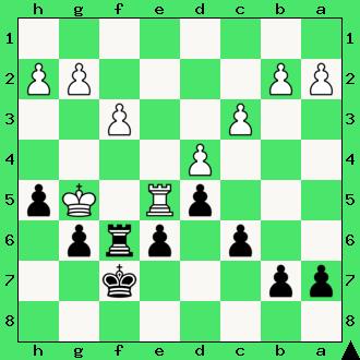Strugarek, Ćwiczenia, interaktywny podręcznik szachowy, apronus, diagram, końcówka wieżowa, szachy dla dzieci, lekcje szachów, gra z komputerem, partia szachowa, król, pionki, hetman, promocja, pierwszy krok w szachach, wieża,